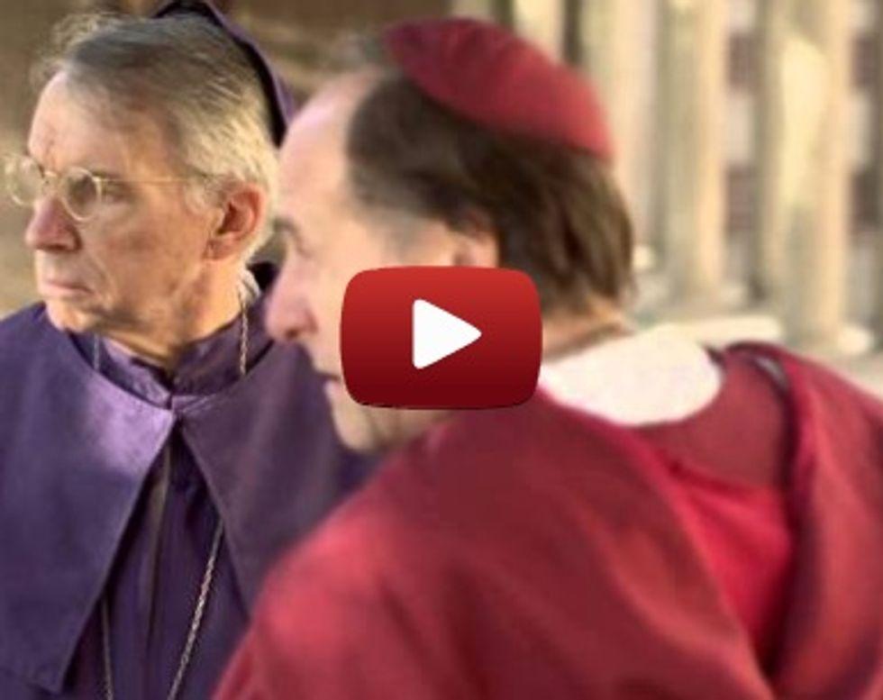 "Catholic ""House of Cards"" parody — ""House of Cardinals"""