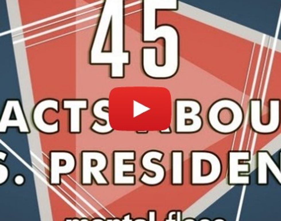 45 strange facts about American presidents