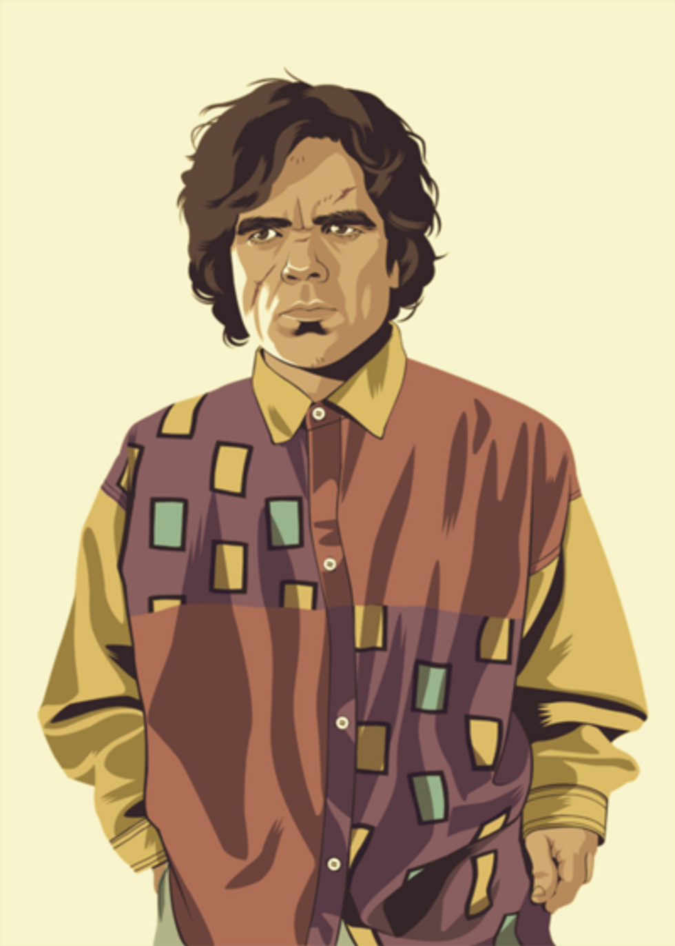 Game of Thrones characters if they were from the 1980's and 90's [9 pics]