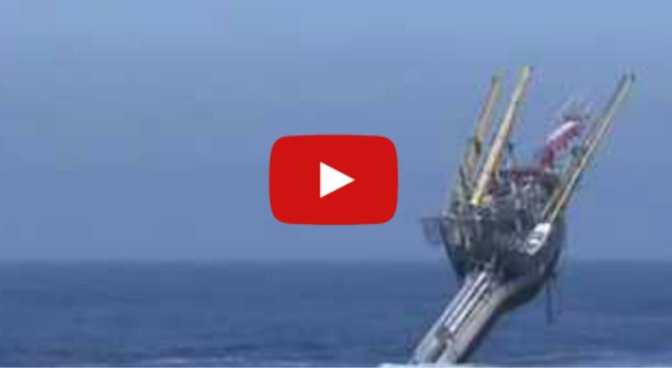 355-foot boat starts sinking and tips all the way onto its end. No one is concerned...
