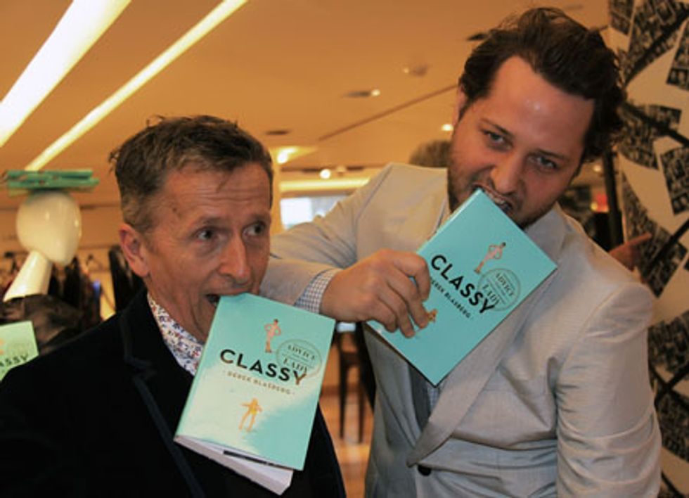 About Last Night... Book Release Party for Derek Blasberg's Classy