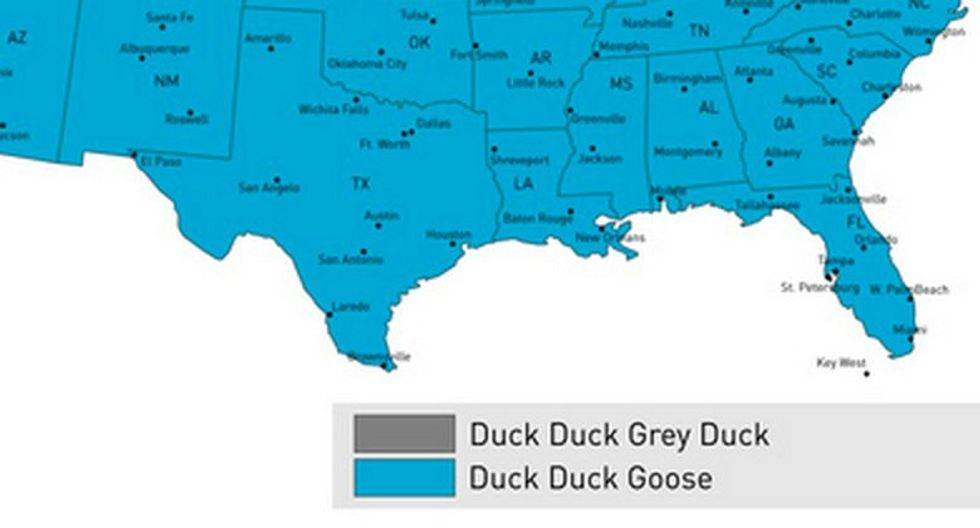 """""""Duck, Duck, Gray Duck"""" or """"Duck, Duck, Goose""""? Mapping the controversy"""