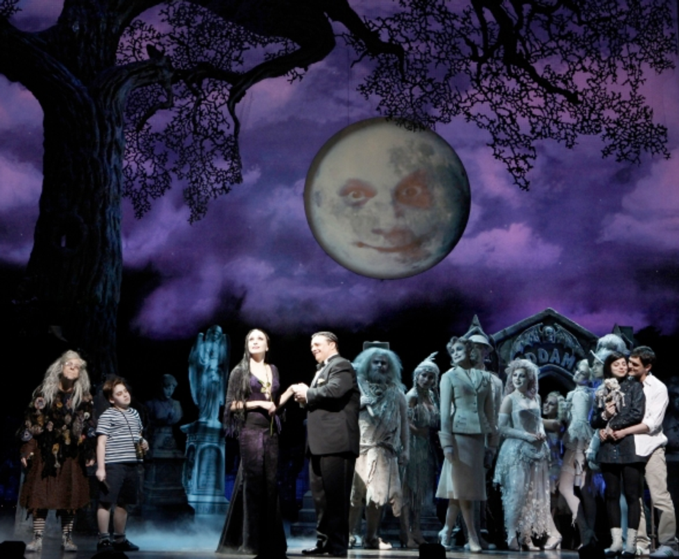The Addams Family Opens Tonight on Broadway