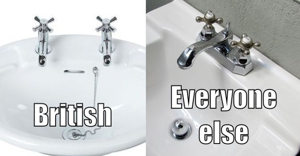 The Stomach-Turning Reason the British Use Separate Hot and Cold Taps