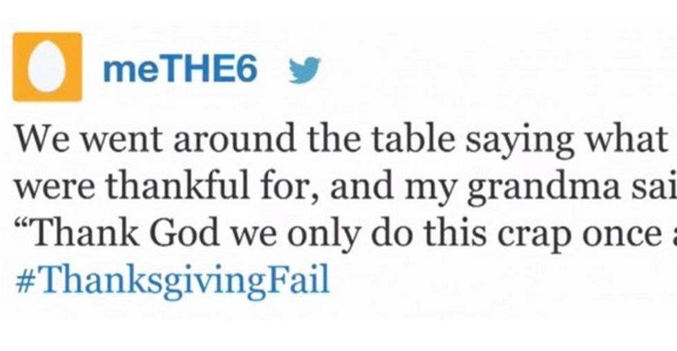 13 Hilarious Thanksgiving Fails... Do We All Agree with Grandma on This One?