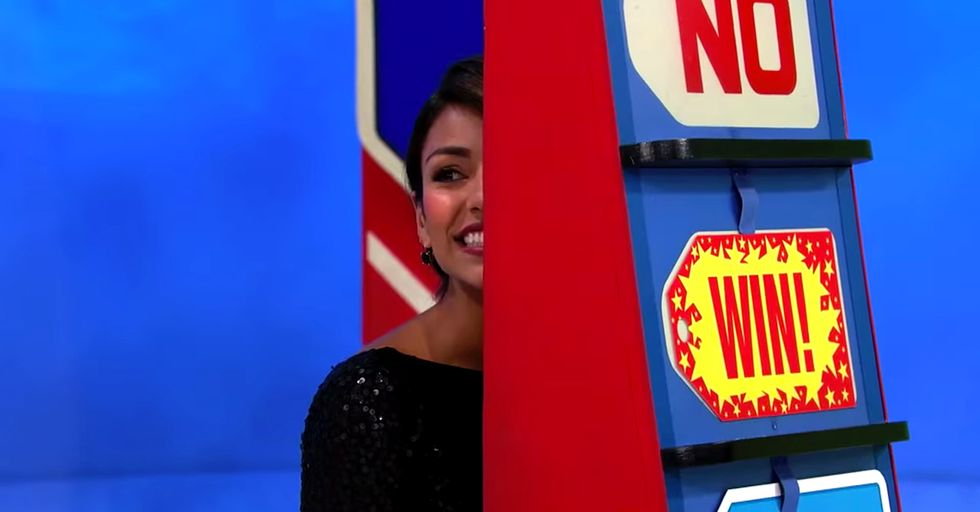 'Price is Right' Model Makes a VERY Costly Mistake and Turns a Lucky Contestant Into an Instant Winner