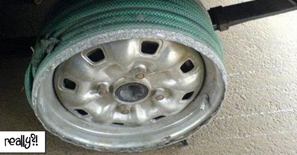 35 People with Hilarious DIY Car Trouble Solutions