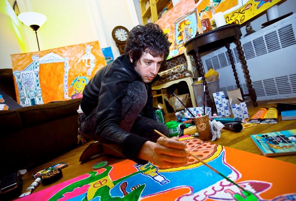"Adam Green's ""Teen Tech"" Heads to the Morrison Hotel Gallery"