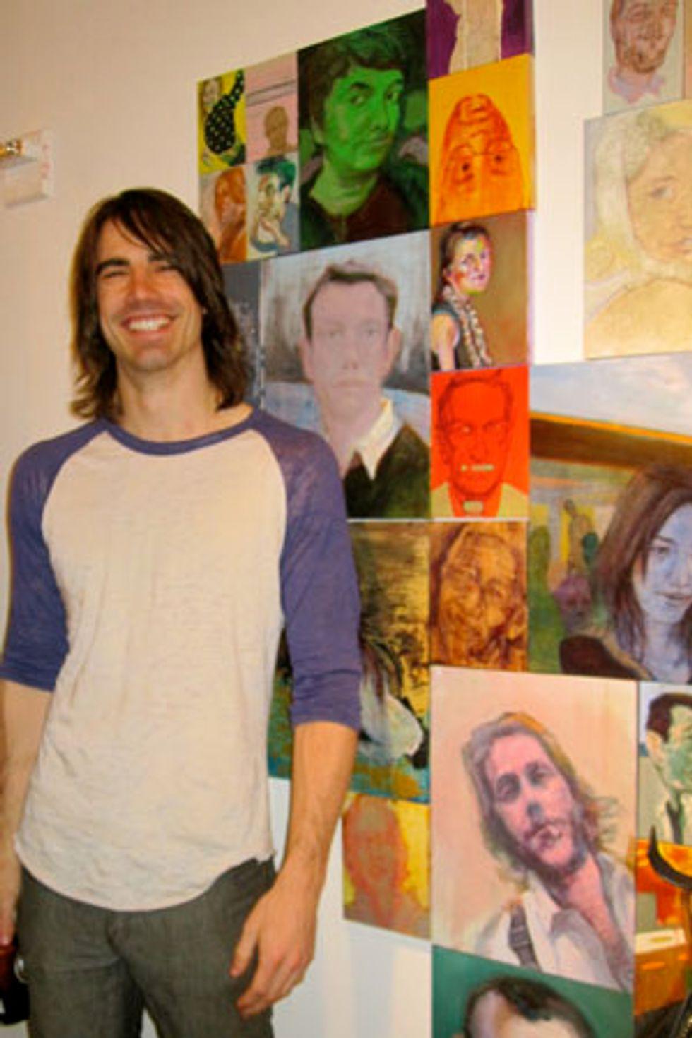 "Artist Nic Rad On His Media Portraits, ""PeopleMatter"""