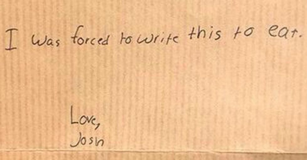 These 25 Notes From Kids at Camp Are Hilariously Honest