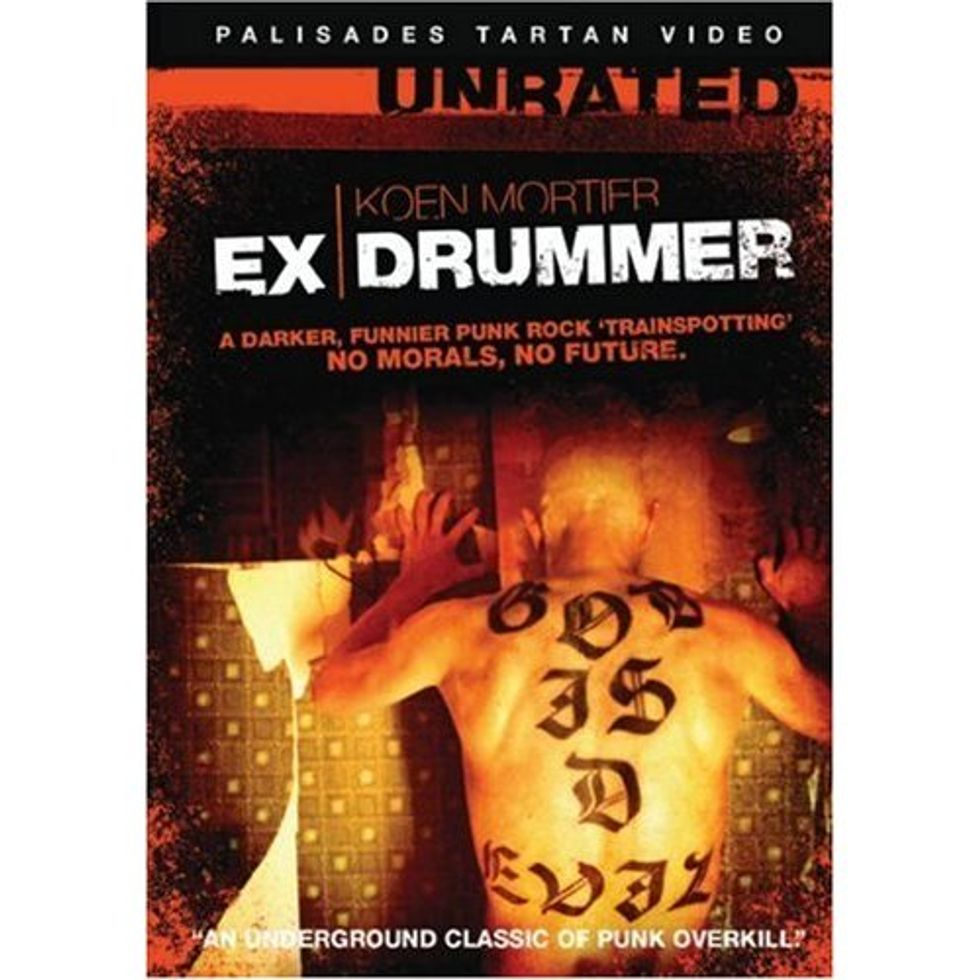 Punked-Out Danish Black Comedy Ex Drummer On DVD!