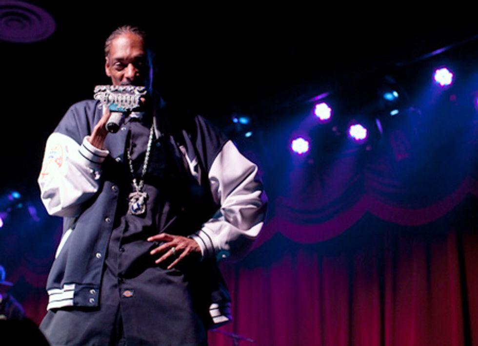 Night Vision: Snoop Dogg at Brooklyn Bowl