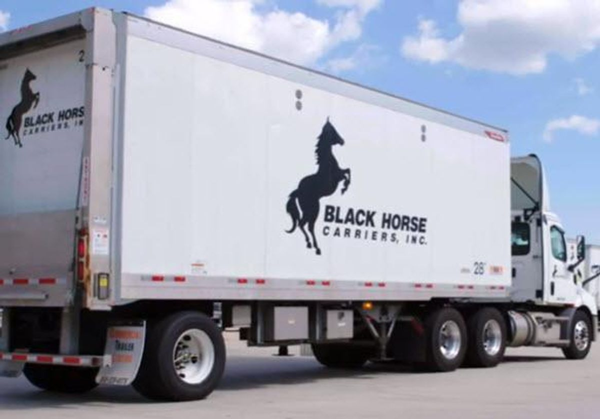 Black Horse Carriers Truck