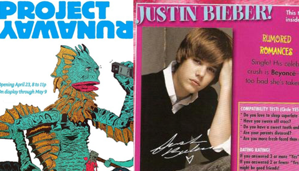 """Eight Items Or Less: """"Project Runaway"""" & MGMT Can't Beat Uggs-Hater Bieber"""
