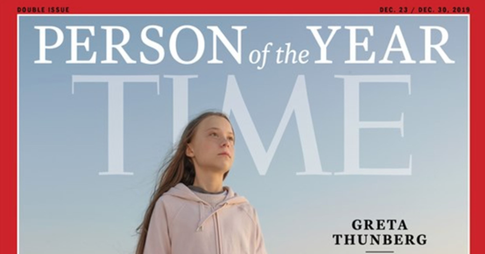 Greta Thunberg Has Been Named TIME's Person of the Year