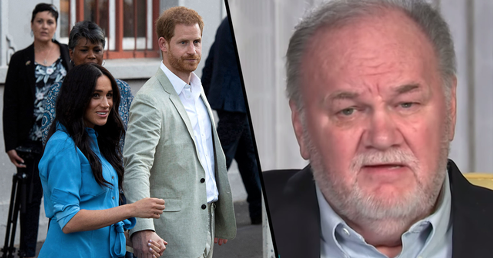 Meghan Markle's Dad Speaks out for the First Time Since She Quit the Royal Family