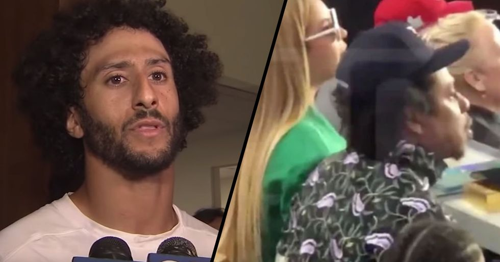 Colin Kaepernick Responds to Beyonce and Jay-Z Refusing to Stand During the Super Bowl National Anthem