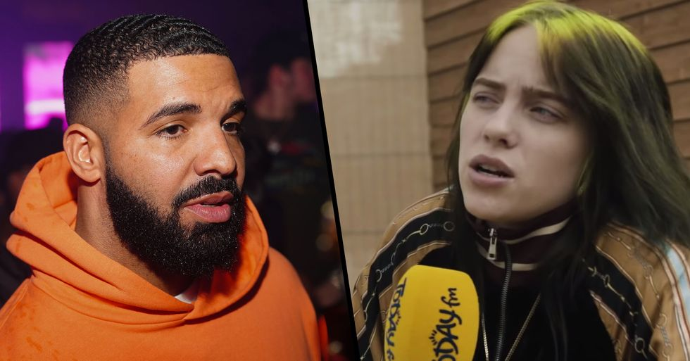 Billie Eilish Responds to People Slamming Drake for Texting Her When She Was 17