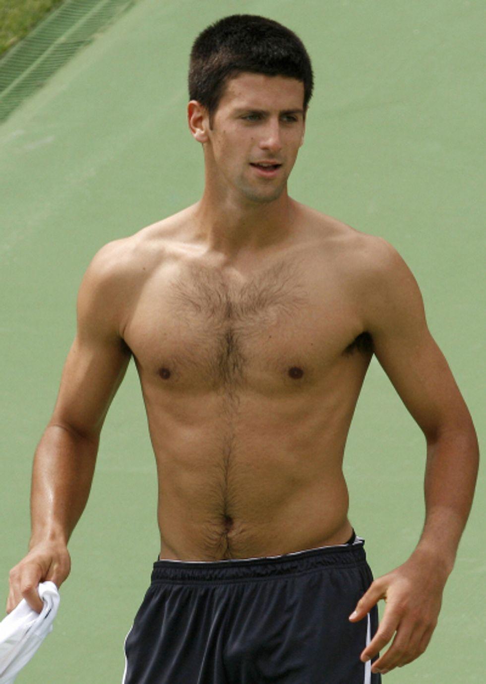 Things I Like About Being Stranded in Belgrade: Tennis Hunk Novak Djokovic