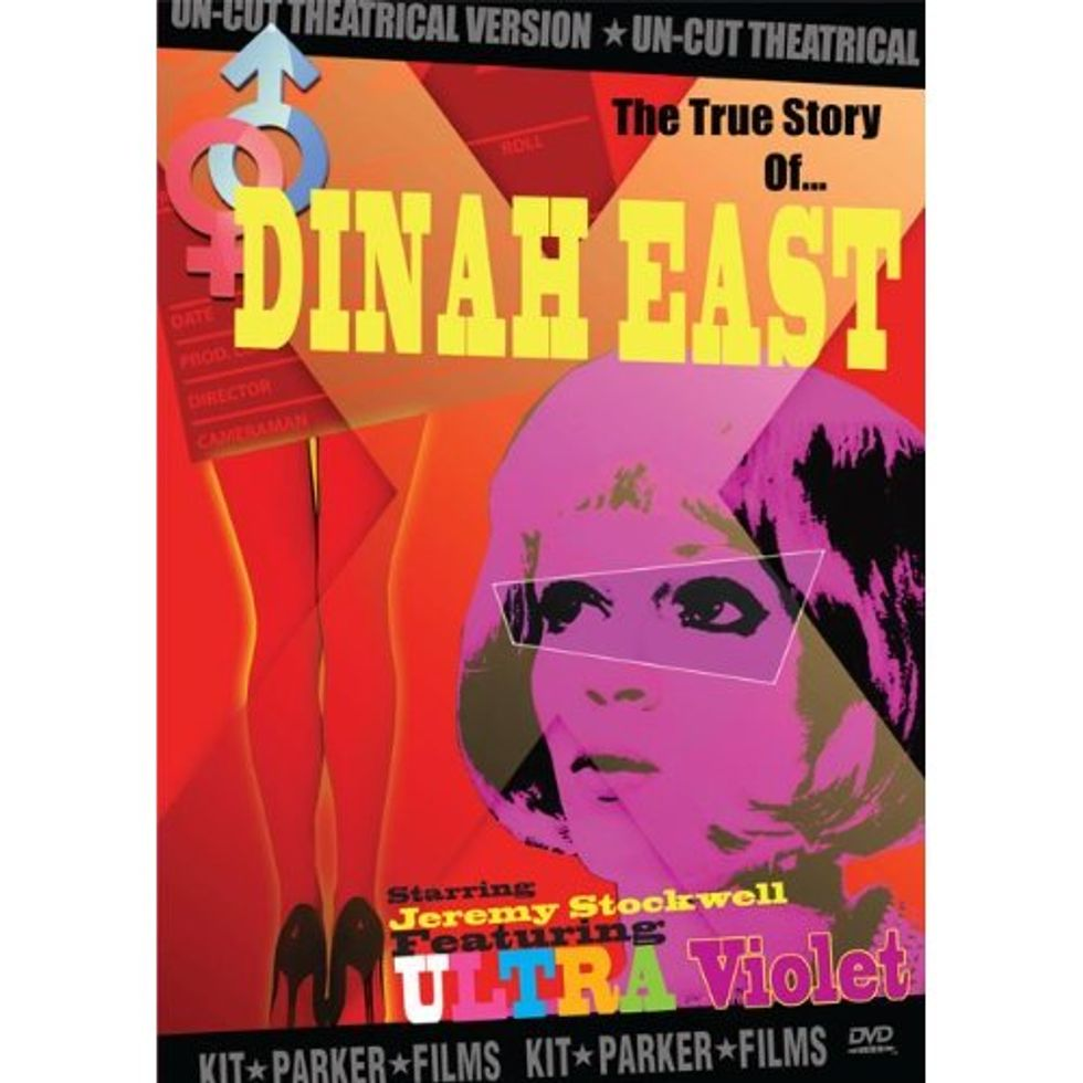 Fabulously Deranged: Dinah East On DVD!