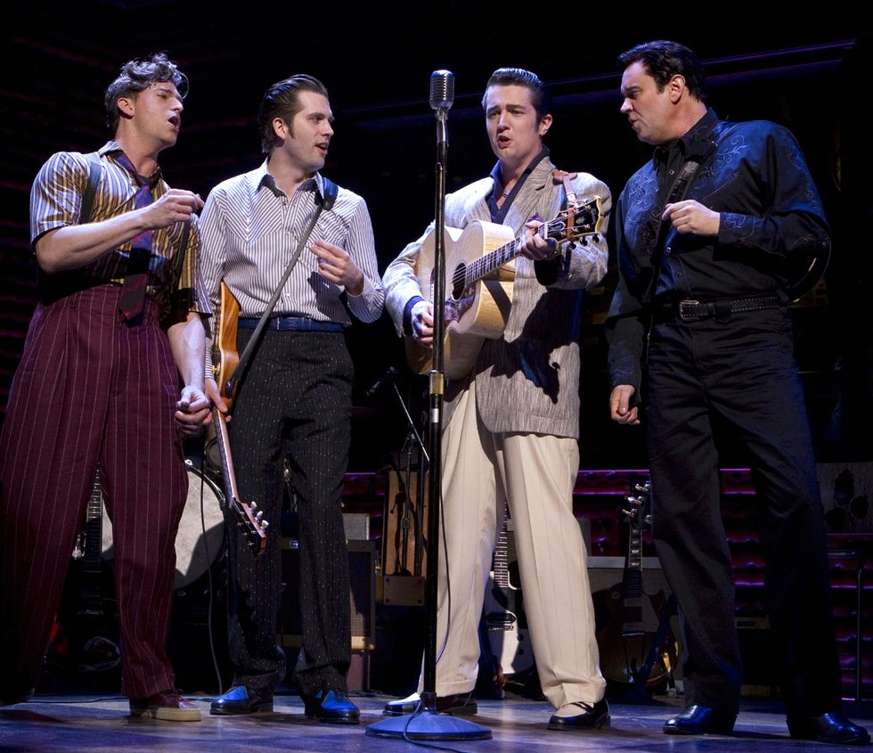 Backstage with the Million Dollar Quartet!