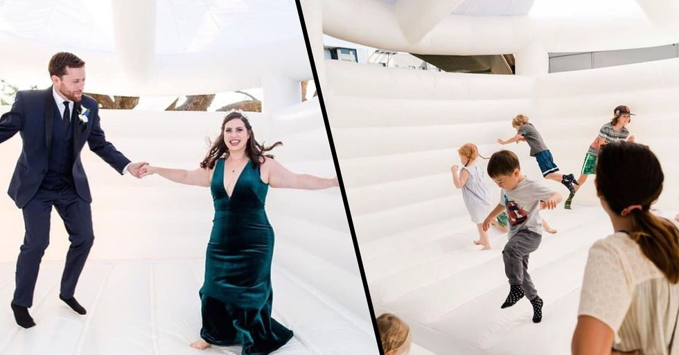 You Can Now Rent a Bouncy Castle for Your Wedding Day