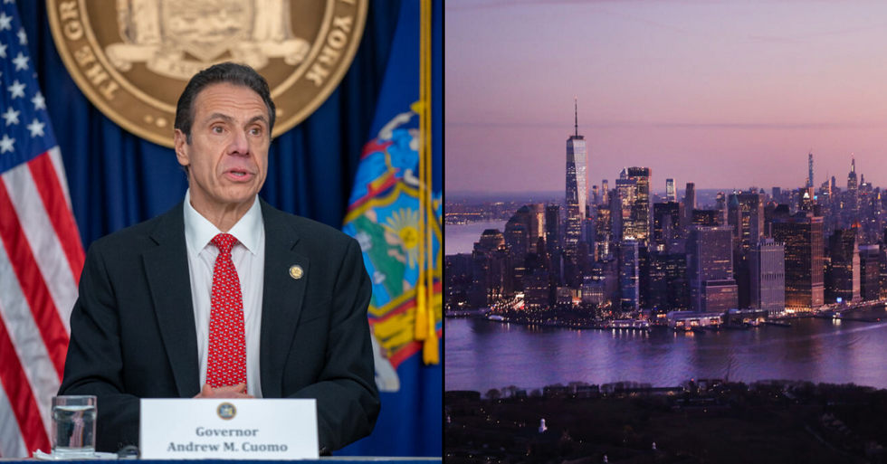 All Non-Essential Workers Ordered to Stay Home in New York