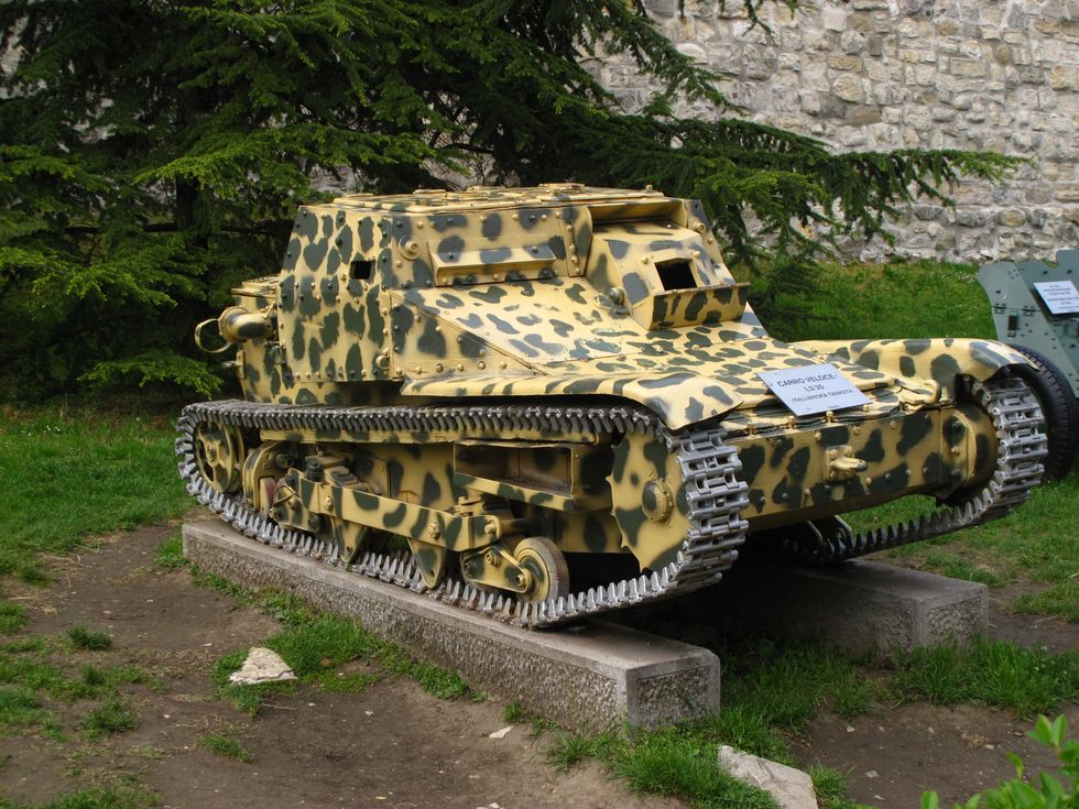 Things I Like About Being Stranded in Belgrade: Camo Mini-Tanks at the Fortress