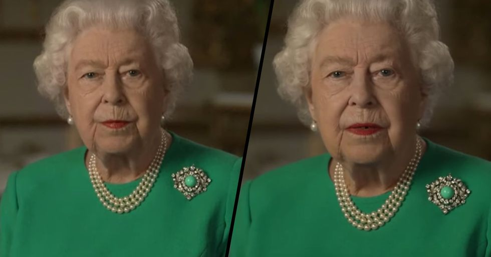 The Queen Sent An Important Secret Message To Viewers During National Address