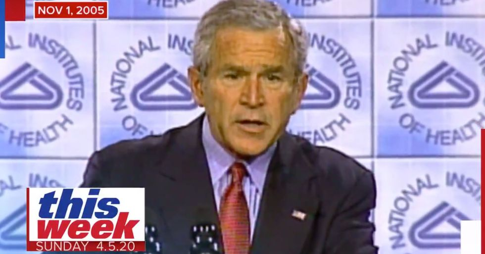 George Bush Predicted the Current Crisis 15 Years Ago