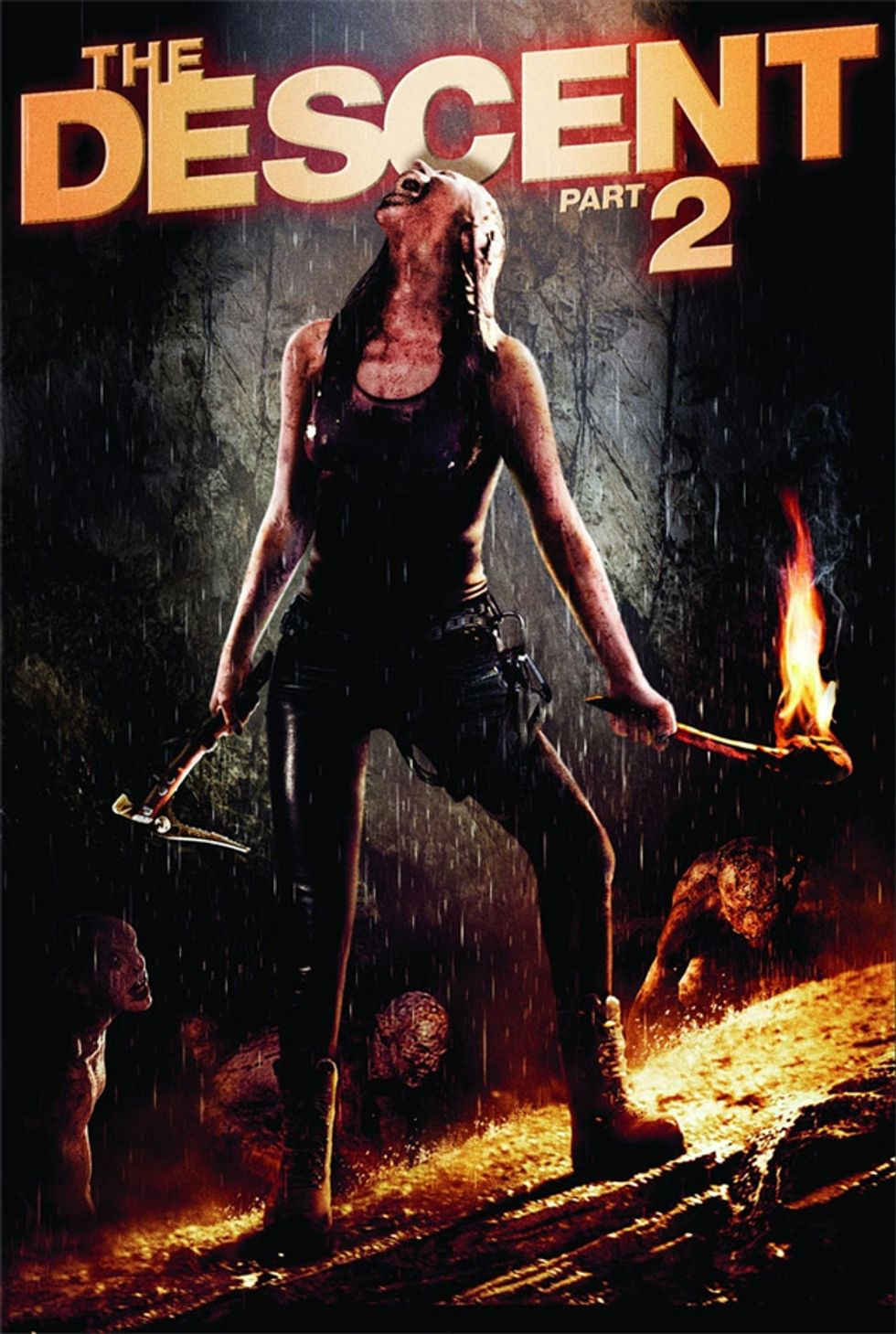 Back To The Caves: The Descent Part 2 On DVD!