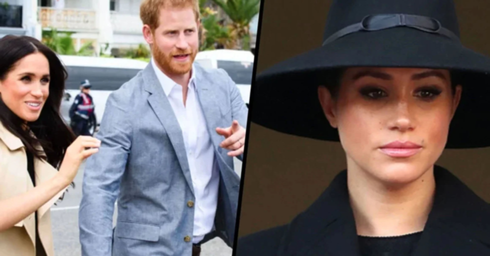 Someone Edited Meghan and Harry's New Website to Disgustingly Insult Meghan