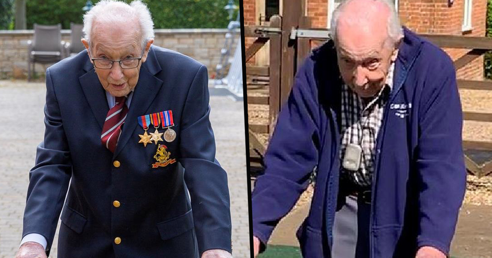 99-Year-Old WWII Veteran Completes 100th Lap of his Garden and Raises Over $15 Million