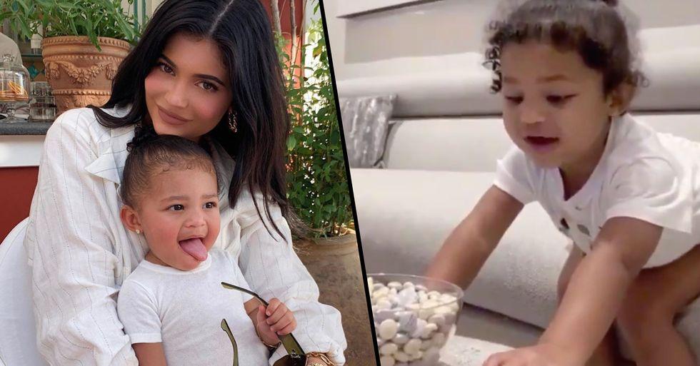 Kylie Jenner Mom-Shamed After Posting Video of Daughter Stormi