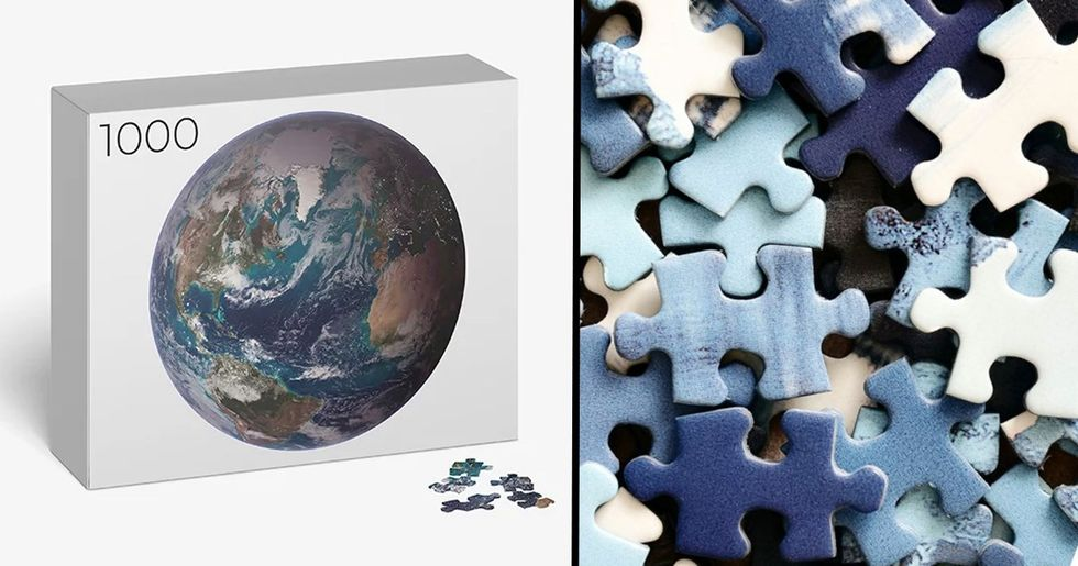 'Impossible' 1,000-Piece Earth Jigsaw Is Driving People Crazy