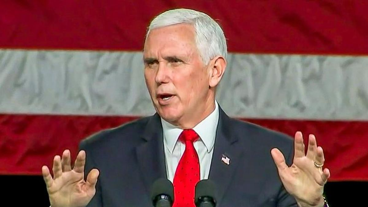 'Do the right thing Jan. 6!' Georgia rallygoers heckle Mike Pence to overturn Electoral College