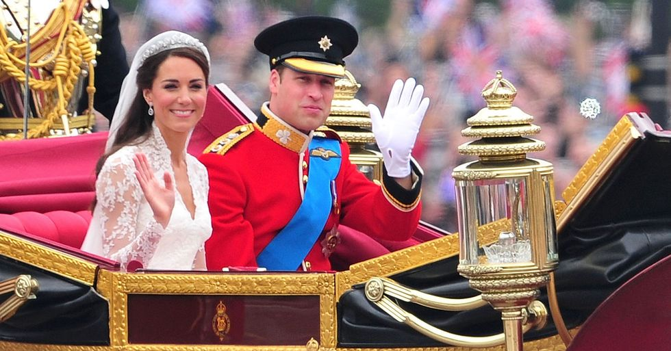 Prince William Helped Do Kate Middleton's Hair on Their Wedding Day