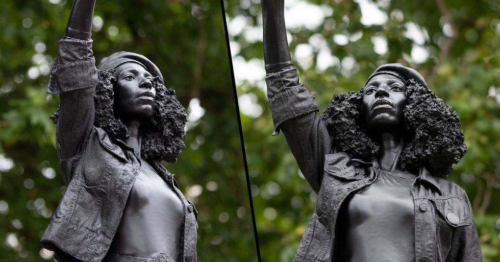 Black Lives Matter Statue Taken Down After One Day