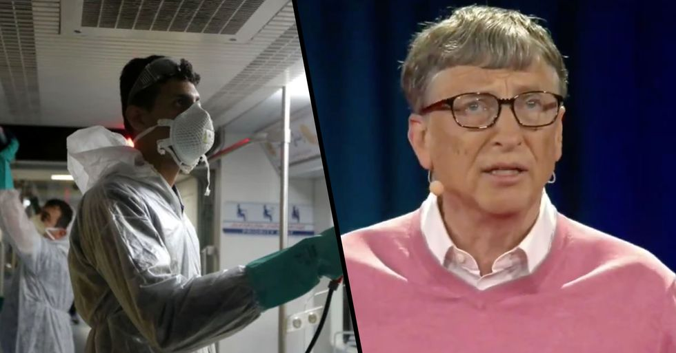 Fans Think Bill Gates Predicted the Coronavirus Five Years Ago