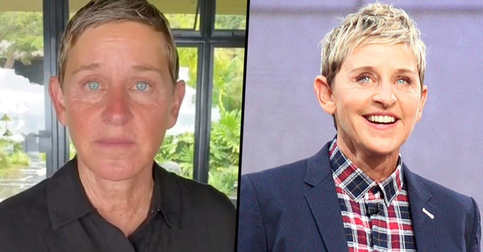 'Terrified' Ellen DeGeneres Staff Reportedly Told TV Boss 'Don't Talk to Her, Don't Approach Her, Don't Look at Her'