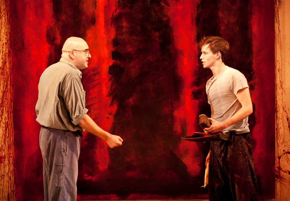 Backstage with Red's Eddie Redmayne