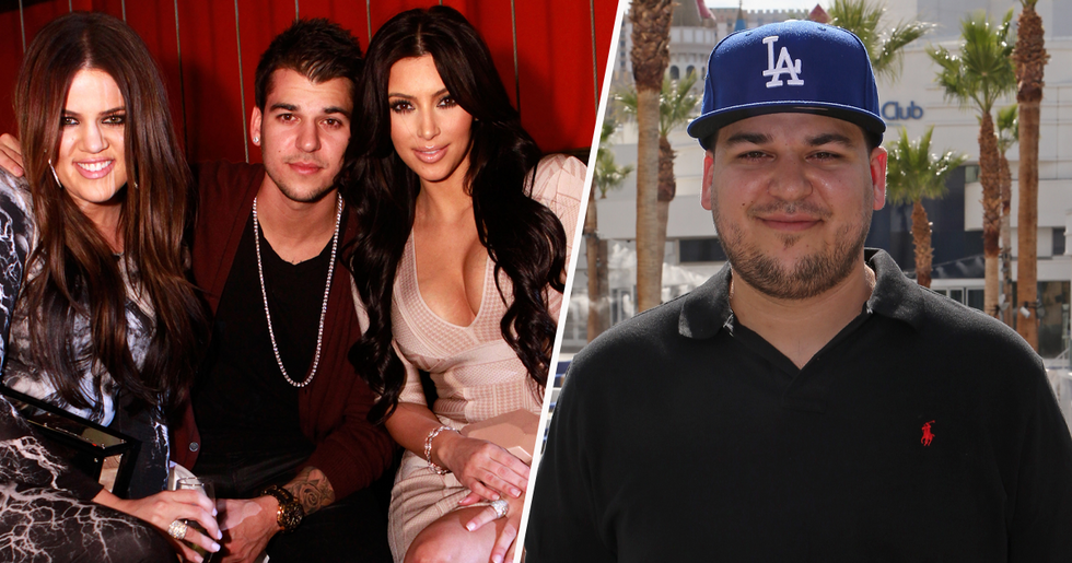 Khloe Kardashian Announce Rob Is Returning to 'Keeping up With the Kardashians'