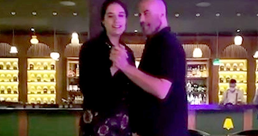 John Travolta Dances With Daughter in Honor of Wife Kelly Preston