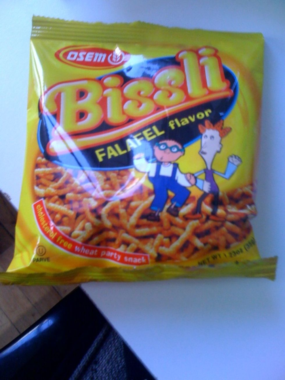 Snacks of All Nations: Bissli Falafel-Flavored Snack