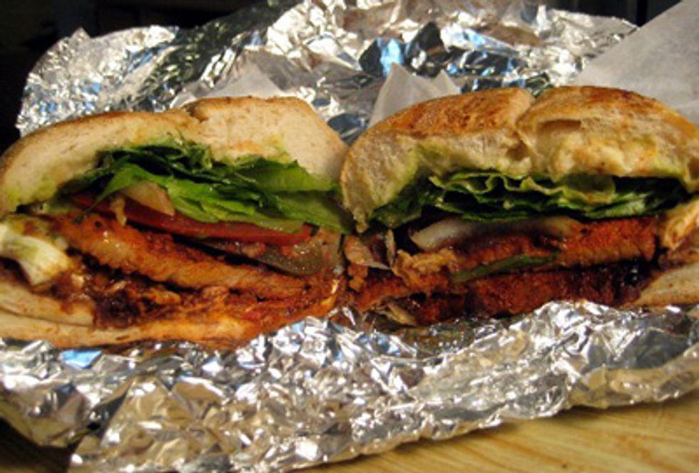 Sandwich of the Week: Taqueria y La Fonda's Chicken Torta