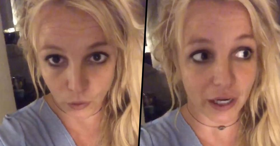 Fans Worried for Britney Spears as She Posts Video for the First Time in Months
