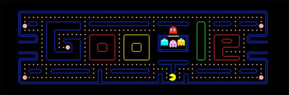 Play Pac-Man on Google!