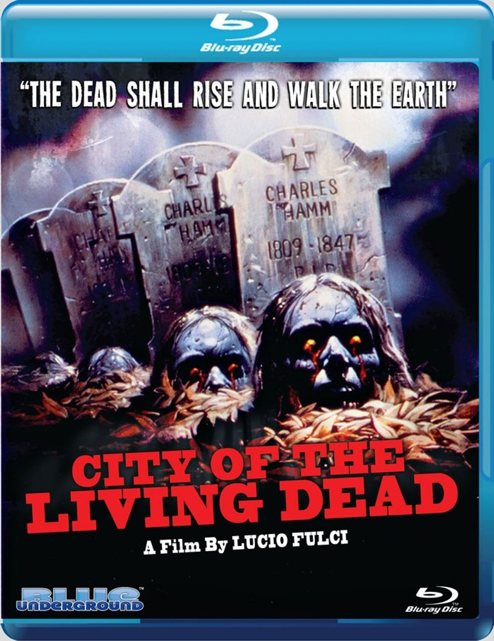 City Of The Living Dead, Now Out On Blu-ray, Will Make Your Eyes Bleed!