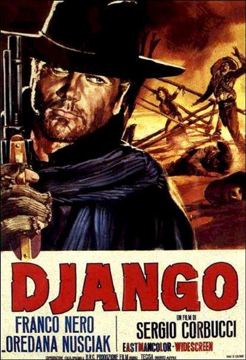 Sublimely Sardonic Spaghetti Western Django On Blu-ray!