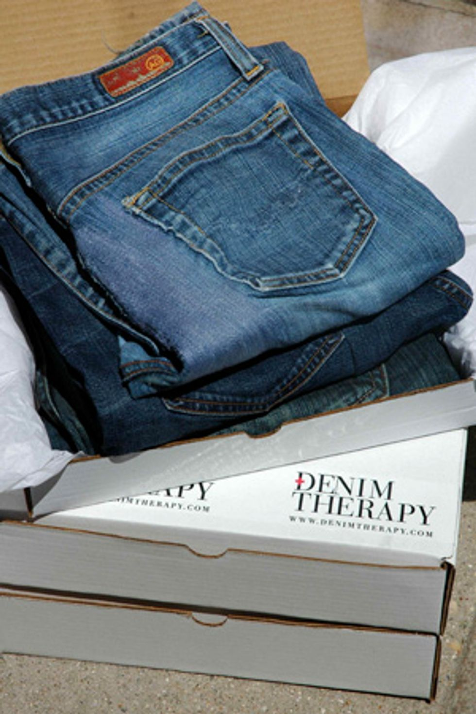 Denim Therapy: Your Blue Jean 911